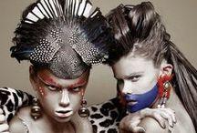 HeadPiecesMasksMakeup / Costume, theatre, dance, crazy, no limits.