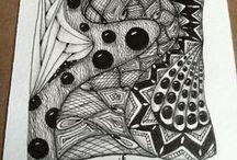 My Zentangles / Zentangle