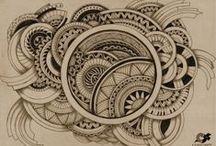 Zentangle 6 / Art