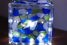 Art-Sea glass / Art from sea glass