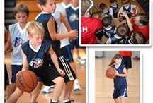 Basketball / Nationally, basketball is one of the most popular team sports for girls and boys. It's a great sport to expand your child's coordination and self-esteem. i9 Sports basketball programs are designed to help kids learn the basics of dribbling, passing, and shooting the ball, all while learning what it means to be part of a team.  For most kids, the ideal age to start basketball is between the ages of 4-5. The skills last a lifetime!  Register today for an i9 Sports youth basketball program!