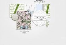 My Digital Scrapbooking Layouts / Creating for the Lilypad & Kate Hadfield