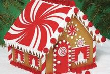 Gingerbread House Fun / Lots of fun ideas for building gingerbread houses with your family....a fabulous holiday tradition!