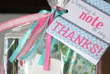Say Thanks-A-Lot / Creative ways to say thank you! / by Girl Scouts Heart of Central CA
