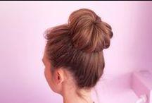 ¡Hasta el moño! / #pelo #cabello #peluqueria #cuidadodelcabello #recogido #moño #bum #hairstyle