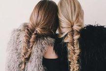 Trenzadas / #trenza #recogido #hairstyle #belleza #pelo #cabello #peluqueria #cuidadodelcabello #braid