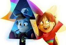 Gravity Falls & Star vs Evil