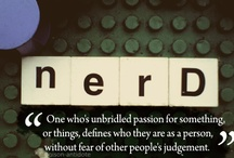 Nerd , is really just code for awesome / Nerdy science things and things that I just think are witty. :) / by Alix McKnight