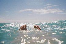 Just because I love the ocean... / Salt, sun and sea breeze....