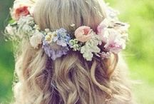 Bridal Style / Veils, hair styles, shoes
