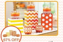 T's Yummy Candles by Gold Canyon / I love my home smellin' YUMMY!  So, my goal is to make your home smell as YUMMY as mine!