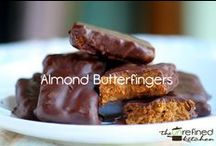 Healthy Real Food Treats / Treats that are real food approved. A great treat or dessert is made with great ingredients!