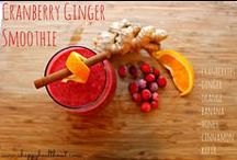 Delicious Healthy Drink Recipes / Love having a fruity, spicy or warm drink in hand!  Here are some fantastic resources, recipes and ideas to get your started!