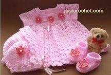 Crochet & Knit - Baby & Toddler Girl / Clothing