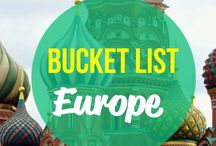 Places to Visit / My bucketlist