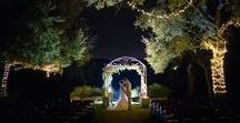 Let Your Night Sparkle / Kindred Oaks has over a mile of twinkle lights on an 11 acre property. Pictures at night are absolutely breathtaking and hard to beat!