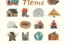 houses and neighborhoods / by Ponyboy Press