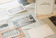 Vintage Postcards for Weddings & Events / Lots of inspiring ideas for using unused vintage postcards for wedding guest books, place settings and/or RSVP cards.If you are looking where to buy them contact me. I can provide them.