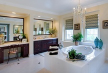 Bathrooms / This is a collection of bathrooms in various styles and fixtures I adore.