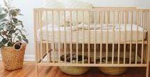 Nursery inspiration / Nature themed. All neutral colors.