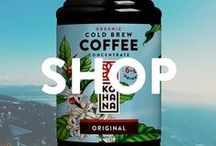 Shop At Kohana Coffee / Our passion is slow-roasted, hand-crafted coffee, ready-to-drink cold brew coffee and cold brew concentrate.