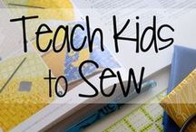 Kids Camp Sewing Projects / Sewing projects for kids / by Sonia Spotts