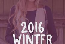 2016 Winter Collection / Check out our totally cute and boho inspired Winter 2016 collection!