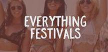 Everything Festivals / We love festivals!