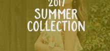 2017 Summer Collection / Summers are finally here! We've got some fun, trendy and boho pieces for you that are worth falling in love with.