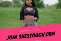 SHESTOUGH.com Female Fitness Training / http://www.shestough.com