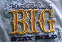 Machine Embroidery Backing / Information about machine embroidery backing,  what to use and how to use it.