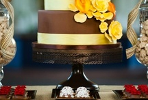 Brown Wedding Cake Stands / The most gorgeous cake designs on Sarah's Stands Dark Chocolate (Brown) cake stands. / by Sarah's Stands