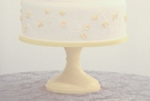 Yellow Wedding Cake Stands / by Sarah's Stands