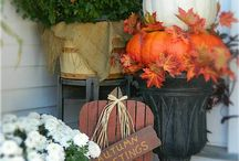 Fall is my FAVORITE / Halloween and Thanksgiving