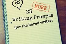 Writing Prompts and Exercises / Writing prompts and writing exercises