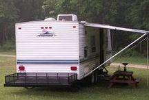 Trailer camper / by Krystal Schneider