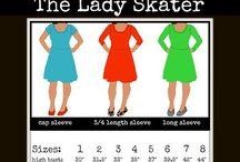 Lady Skater Dress Pattern / Lady Skater Dress Pattern Ideas