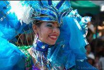 Carnaval de Barranquilla / Es ist warm, es ist bunt und es gibt viel Musik! Beim Karneval von Barranquilla. Übrigens der zweitgrößte Südamerikas!  Mehr zu lesen gibt es hier: http://www.reiselieber.org/7468-karneval-barranquilla-kolumbien
