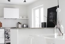 LUXE {KITCHEN | DINING} / Home décor / renovation ideas for an airy and spacious kitchen & dining room ❤️