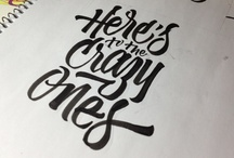 Typography / by Tyson Caly