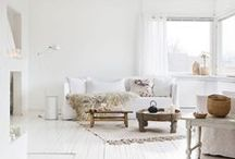White love/blanc / white home decor