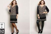 Mode Femme Grande Taille / Le mode femme grande taille sans complexes jusqu'au 62. Des vêtements élégants, confortables et coupés pour coller à vos envies !