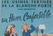Vintage / L'histoire de Blancheporte en images : catalogues, photos et dessin d'époque… Garanti 100% vintage !