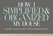 HOME ORGANIZING  IDEAS / by My GreeKitchen