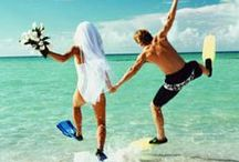 Brides Grooms and honeymoons / wedding and bridal tidbits / by Outahere2travel/Paula Austin