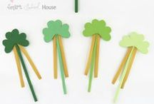 St. Patrick's Day Stuff for Kids / All things St. Patrick's day when it comes to celebrating it with kids - crafts, art projects and activities  / by Holly Homer