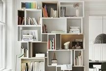 Storage ideas / storage; bibliotheque; rangements