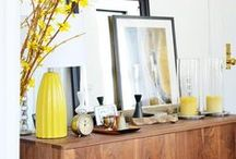 sideboard styling / A million and one ways to style that sideboard