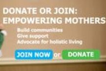 #MayDriveforMoms HMN Fundraising and Membership Drive / May is here! We're honoring moms all month long and asking you to join us. Become a supporting member, join us as a sponsor, or give a donation to empower mothers! / by Holistic Moms Network