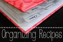 ORGANIZING RECIPES / DIY RECIPE BINDER